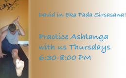 David Practicing Ashtanga Second Series