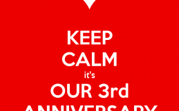 Celebrate our 3rd Anniversary with us!
